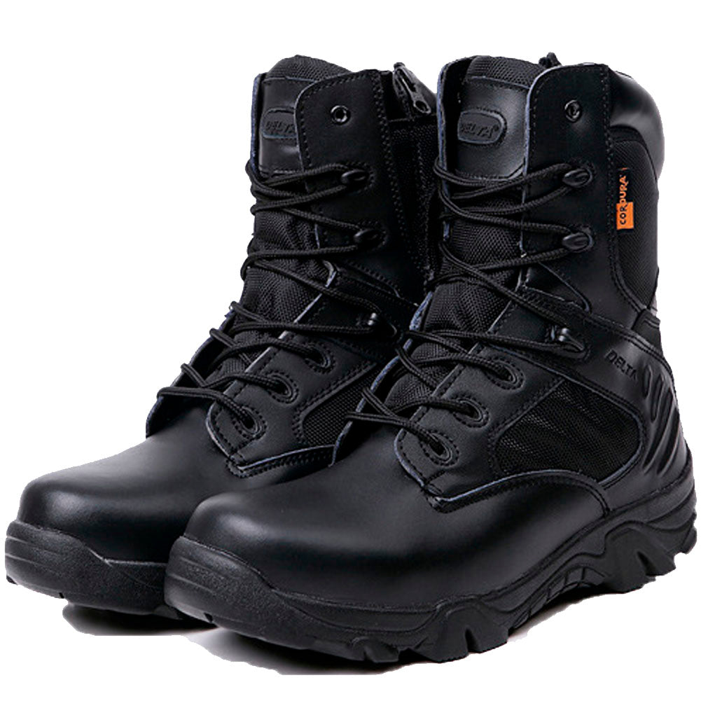Winter Men Military Combat Boots Leather Desert Work Safety Shoes Tactical Ankle Boots Men's Army Botas Tacticos Zapatos