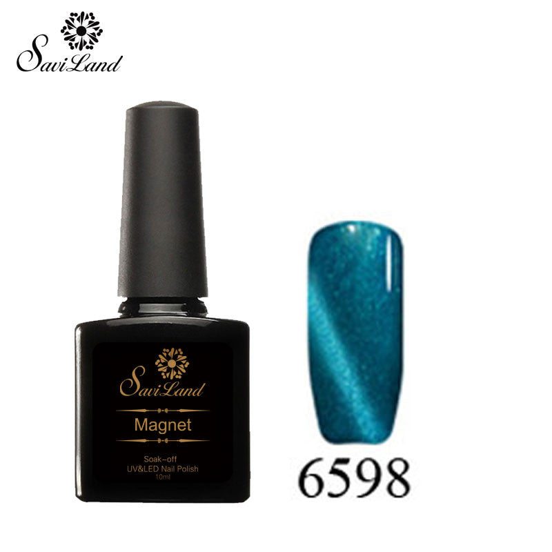 Saviland 3D Magnet UV Nail Gel Polish Cat Eye Colors Manicure Cat Colors 10ml Healthy and Eco-friendly Gel Lacquer Best On Ali - Cerkos  - 27