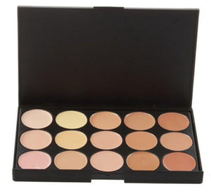 New 2014 Hot Sale Special Professional 15 COLOR Concealer Facial Care Camouflage Makeup Palette - Cerkos  - 3