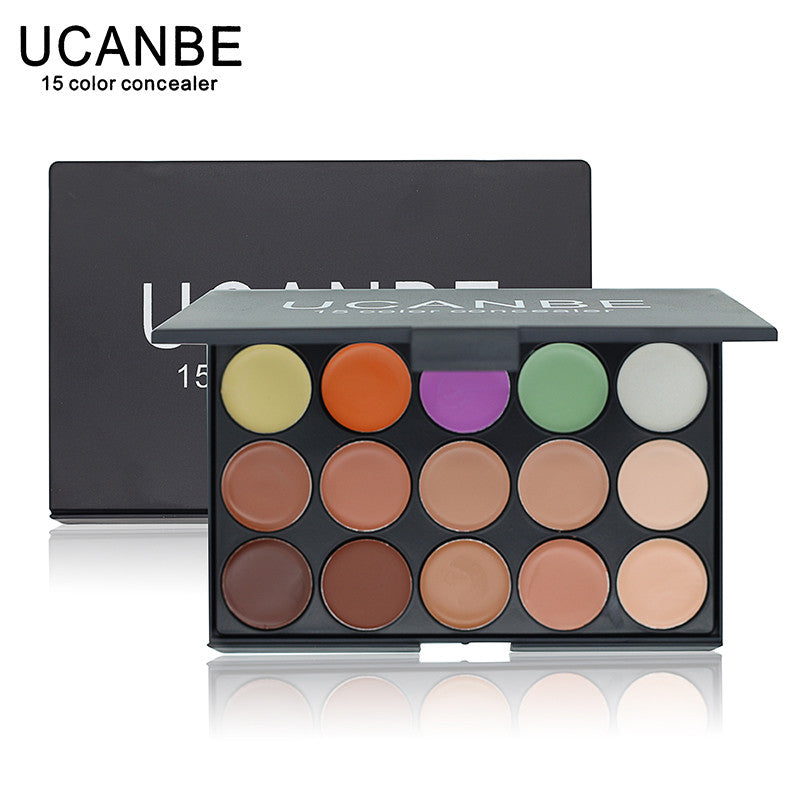 New 2014 Hot Sale Special Professional 15 COLOR Concealer Facial Care Camouflage Makeup Palette - Cerkos  - 1