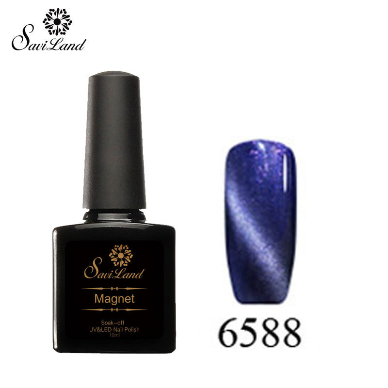 Saviland 3D Magnet UV Nail Gel Polish Cat Eye Colors Manicure Cat Colors 10ml Healthy and Eco-friendly Gel Lacquer Best On Ali - Cerkos  - 14
