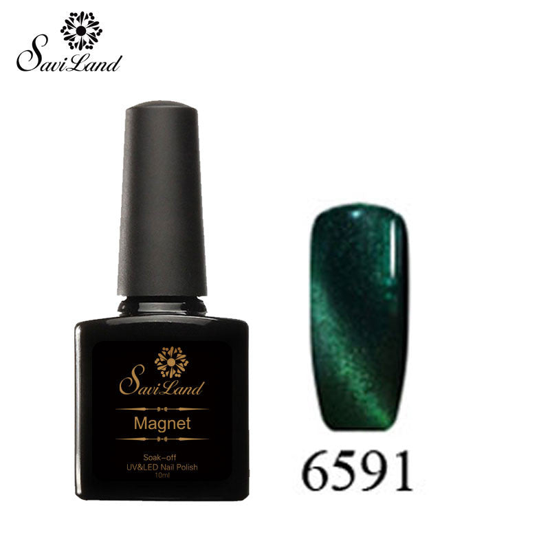 Saviland 3D Magnet UV Nail Gel Polish Cat Eye Colors Manicure Cat Colors 10ml Healthy and Eco-friendly Gel Lacquer Best On Ali - Cerkos  - 28