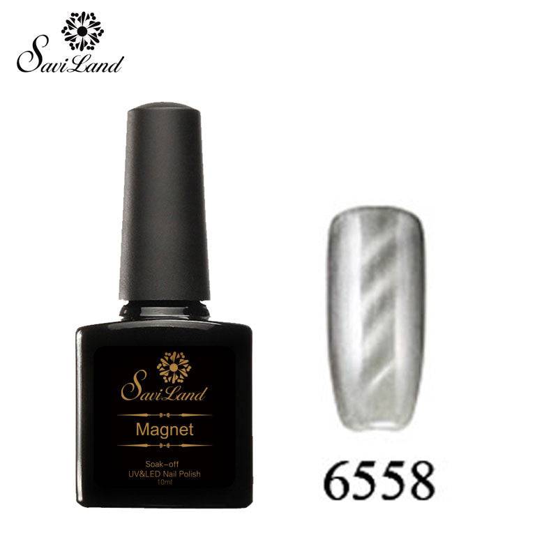 Saviland 3D Magnet UV Nail Gel Polish Cat Eye Colors Manicure Cat Colors 10ml Healthy and Eco-friendly Gel Lacquer Best On Ali - Cerkos  - 17
