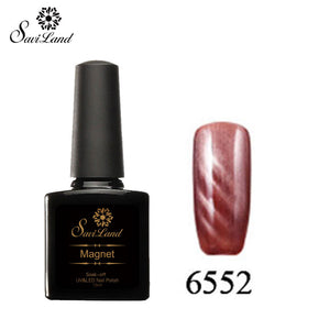 Saviland 3D Magnet UV Nail Gel Polish Cat Eye Colors Manicure Cat Colors 10ml Healthy and Eco-friendly Gel Lacquer Best On Ali - Cerkos  - 24