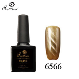 Saviland 3D Magnet UV Nail Gel Polish Cat Eye Colors Manicure Cat Colors 10ml Healthy and Eco-friendly Gel Lacquer Best On Ali - Cerkos  - 13