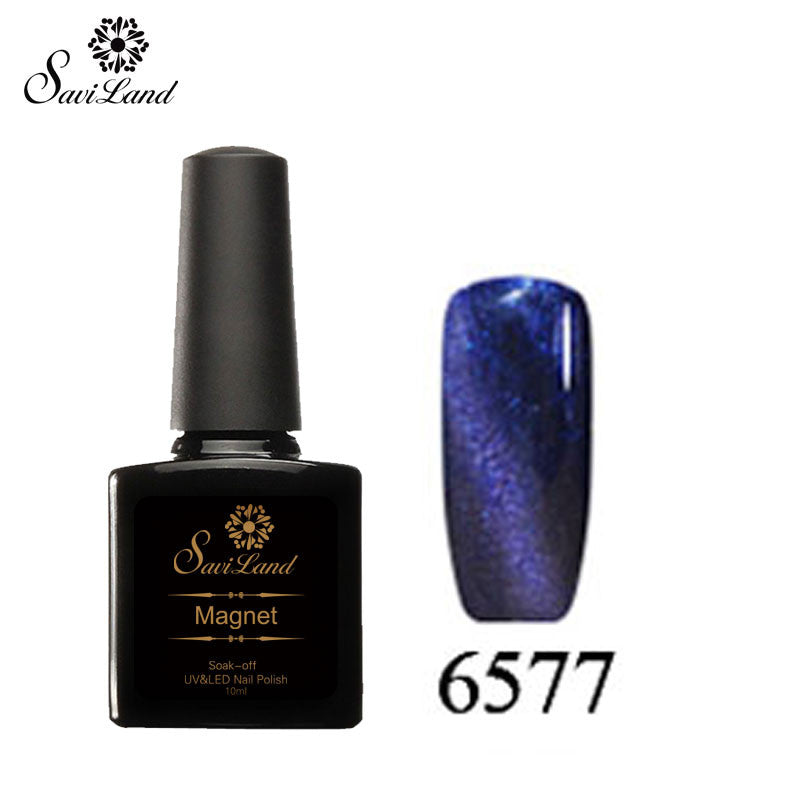 Saviland 3D Magnet UV Nail Gel Polish Cat Eye Colors Manicure Cat Colors 10ml Healthy and Eco-friendly Gel Lacquer Best On Ali - Cerkos  - 22