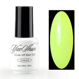Soak Off Gel Nail Polish Candy Lover 12ml / 0.4fl.Oz Golden color big bottle cheap gel polish lacquer big discount - Cerkos  - 19