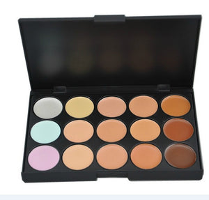 New 2014 Hot Sale Special Professional 15 COLOR Concealer Facial Care Camouflage Makeup Palette - Cerkos  - 2