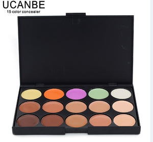 New 2014 Hot Sale Special Professional 15 COLOR Concealer Facial Care Camouflage Makeup Palette - Cerkos  - 4