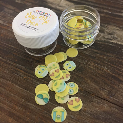 Edible Emoji Fun Food Sprinkles