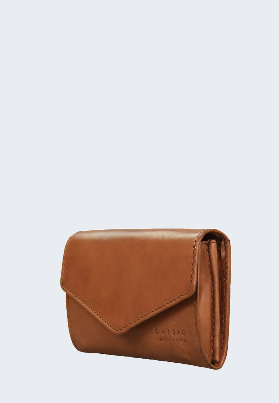 O MY BAG Jo purse camel envelope