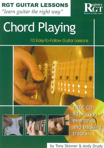 RGT Chord Playing Guitar Lesson Book and CD