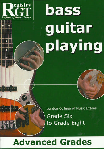 RGT Bass Guitar Playing advanced grades front