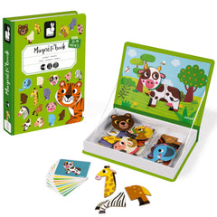 Magnetic Puzzle Book, Animals