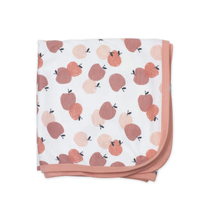 swaddle blanket | peaches