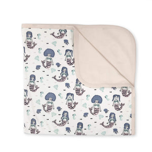 reversible blanket | mermaids