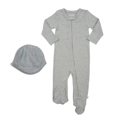 bringing home baby set | heather gray