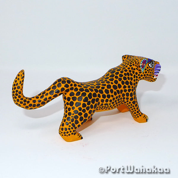 West Mexican Jaguar Oaxacan Carving Port Wahakaa Port Wahakaa Cat, Jaguar, Panthera