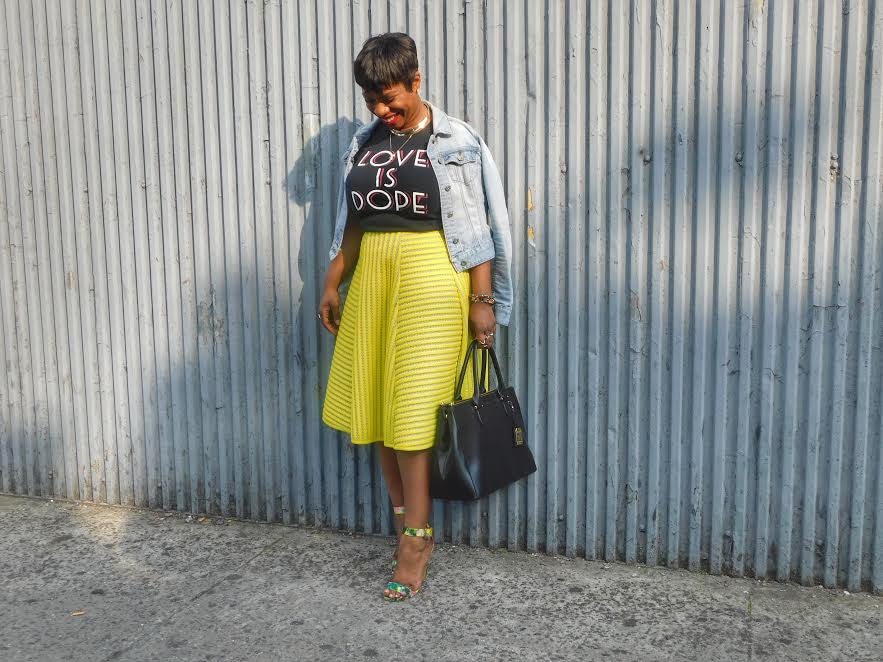 Sunday Style With Fashion Blogger, Not Carrie Bradshaw