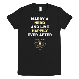 Marry A Nerd T-shirt