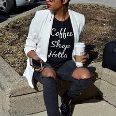 Coffee Shop Hottie T-shirt