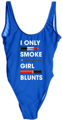Girl blunts Swimsuit