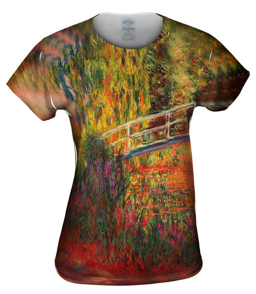"Monet -""Water Lily Pond"" (1900) Womens Top"