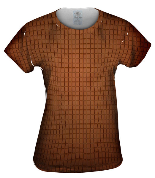 Chocolate Squares Womens Top