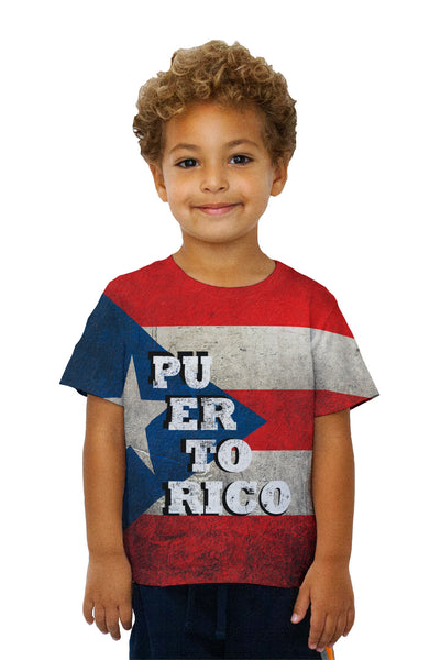 Kids Dirty Puerto Rico Kids T-Shirt