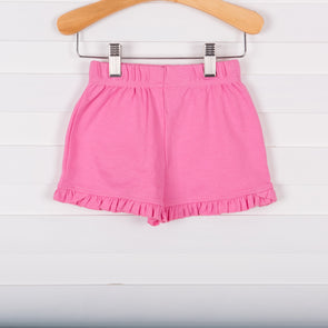 Knit Girl Ruffle Shorts, Solid (5 Colors)