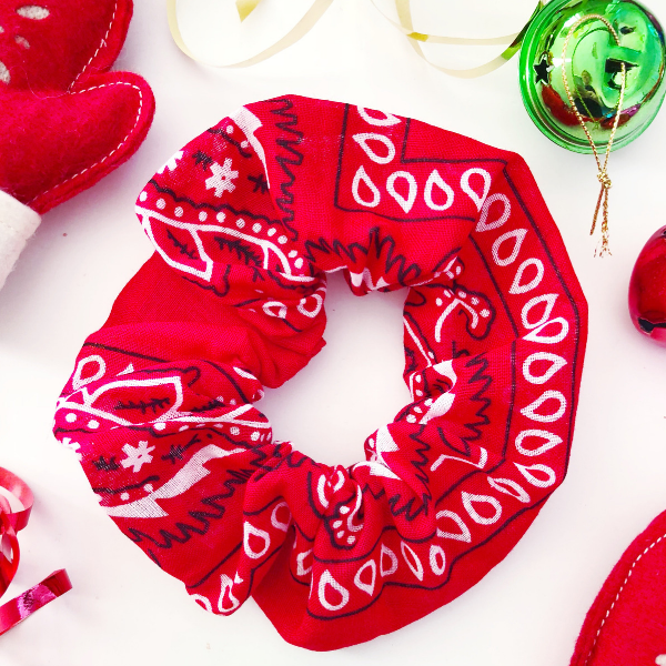 Shop Bandana Scrunchies this 2018 Holiday Season