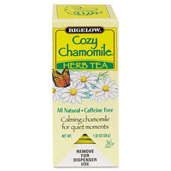 Bigelow® Single Flavor Tea Bags Cozy Chamomile, 28 Bags/Box