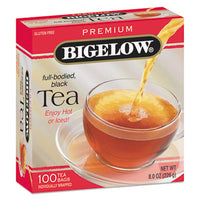 Beverages-Tea Bag - Bigelow® Single Flavor Tea Bags Premium Ceylon, 100 Bags/Box - Office Ready