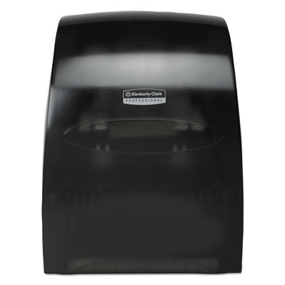 Kimberly-Clark Professional* Sanitouch* Hard Roll Towel Dispenser 12 63/100w x 10 1/5d x 16 13/100h, Smoke