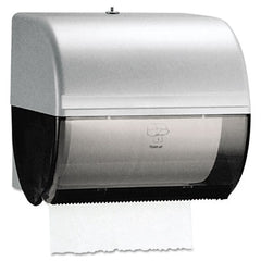 Kimberly-Clark Professional* Omni Roll Towel Dispenser 10 1/2 x 10 x 10, Smoke/Gray