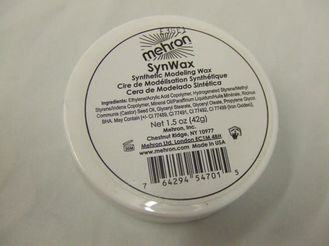 Mehron Syn Wax  Casualty Make-up  Scars  Wounds Halloween  1.5oz Joker Smile