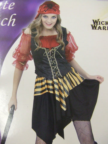 Pirate Wench ~ Nautical ~  Hen Party Fancy Dress ~  Small 8 - 10