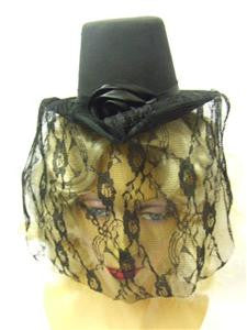 Victorian Ladies Mini Hat ~ Steampunk ~ Edwardian ~ Gothic ~ Vampire ~ Halloween ~ Burlesque