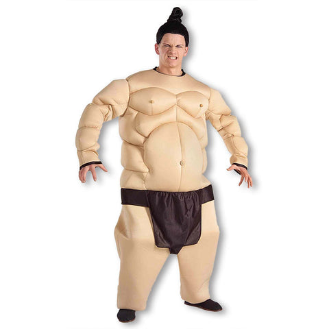 Sumo Wrestler Padded Fat suit Fat Bastard Austin Powers one size - Hire