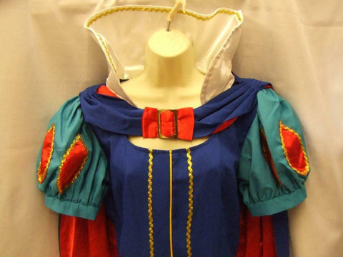 Snow white Princess Fancy Dress Book Week Fairy tale Hire quality Size 14 - 16