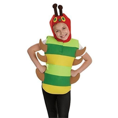 Caterpillar Costume Hungry Fancy dress Book Week Character M Age 6 - 8