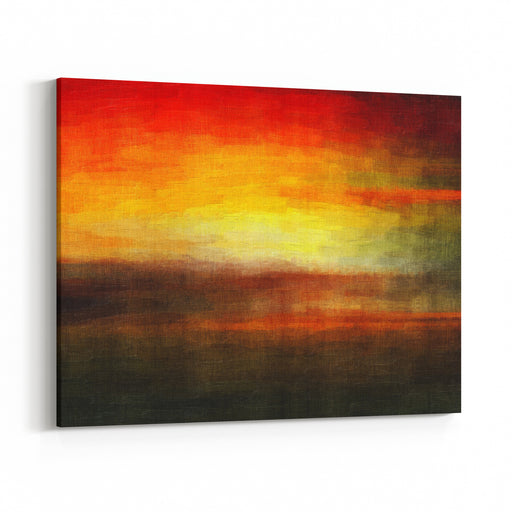 Digital Structure Of Painting Abstract Vintage Background Canvas Wall Art Print