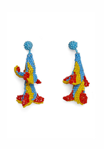 Aprosio & Co. Multicolored Wisteria Earrings