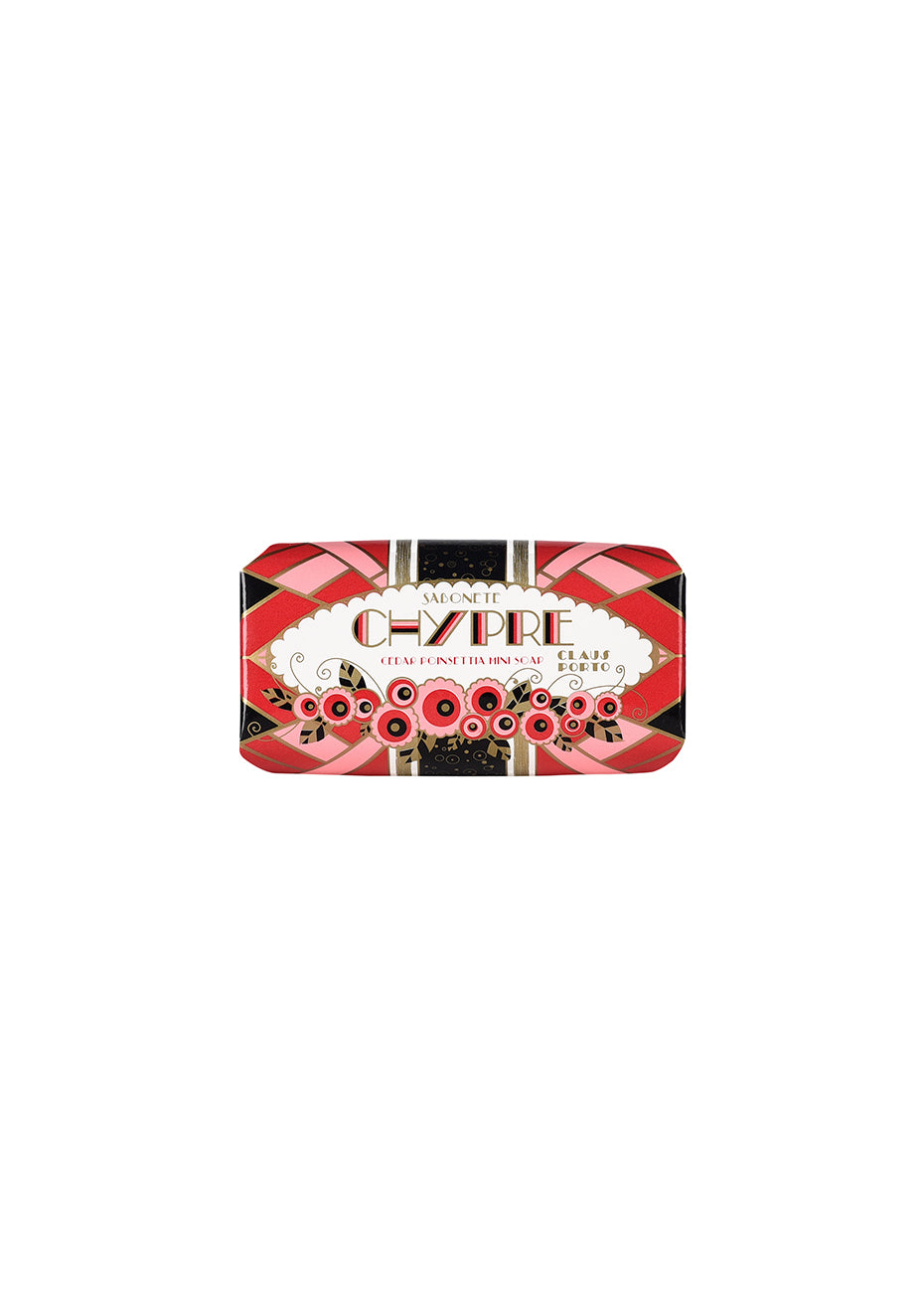 Chypre Cedar Poinsettia Mini Soap
