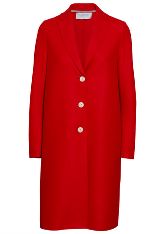 Harris Wharf London Hibiscus Wool Coat