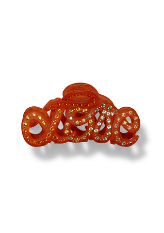 MC Davidian Orange Love Hair Clip