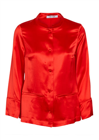 Deitas Red China Jacket