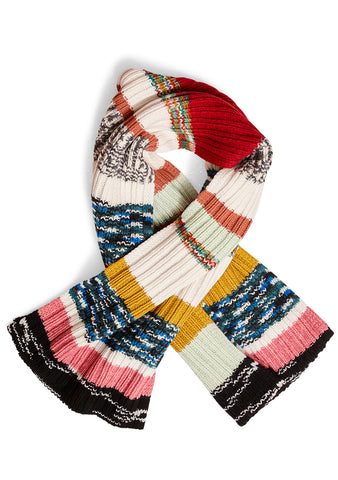 Missoni Ribbed Knit Scarf