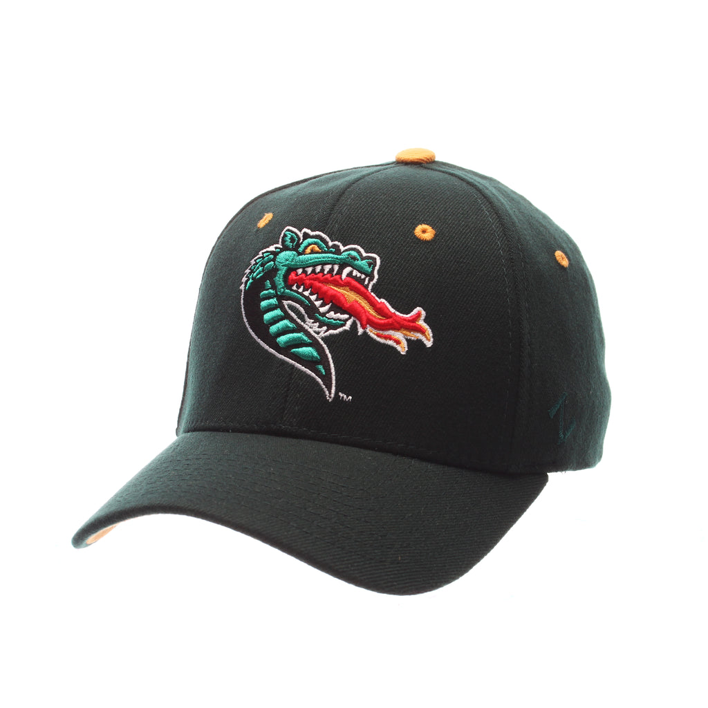 Alabama (Birmingham) ZHS (DRAGON) Forest Dark Zwool Stretch Fit hats by Zephyr
