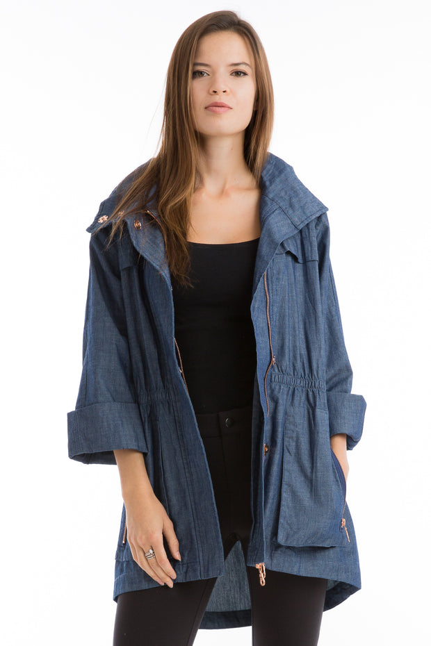 The Denim Anorak